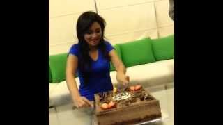 Pooja Umashankar - Surprise Birthday Party at Mosh ♥