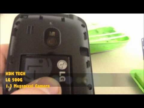 LG 500G Messaging Phone Unboxing (Tracfone)