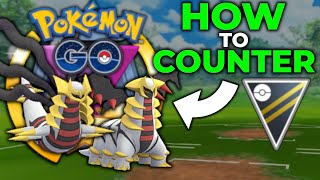 HOW TO COUNTER GIRATINA IN * GO BATTLE LEAGUE * ULTRA LEAGUE | POKEMON GO PVP