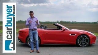 Jaguar F-Type 2013 review - CarBuyer