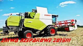 Zniwa Rzepakowe 2015 !! || Claas,New Holland ||
