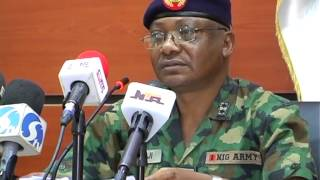 Nigerian Army Dares Boko Haram to Relocate Army Day Celebration to Maiduguri