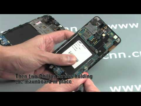 Taking apart the Samsung i9100 Galaxy S II and making it WHITE!