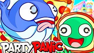 GIVE US ALL THE PIZZA in Party Panic! (Funny Moments)