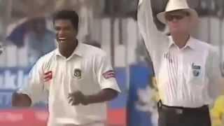 Alok Kapali Hat Trick first Bangladesh bowler to get on Test Cricket