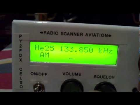 Radio Scanner Aviation Homebrew PU2TMC Luiz And PY2FDX Celso Parte 2