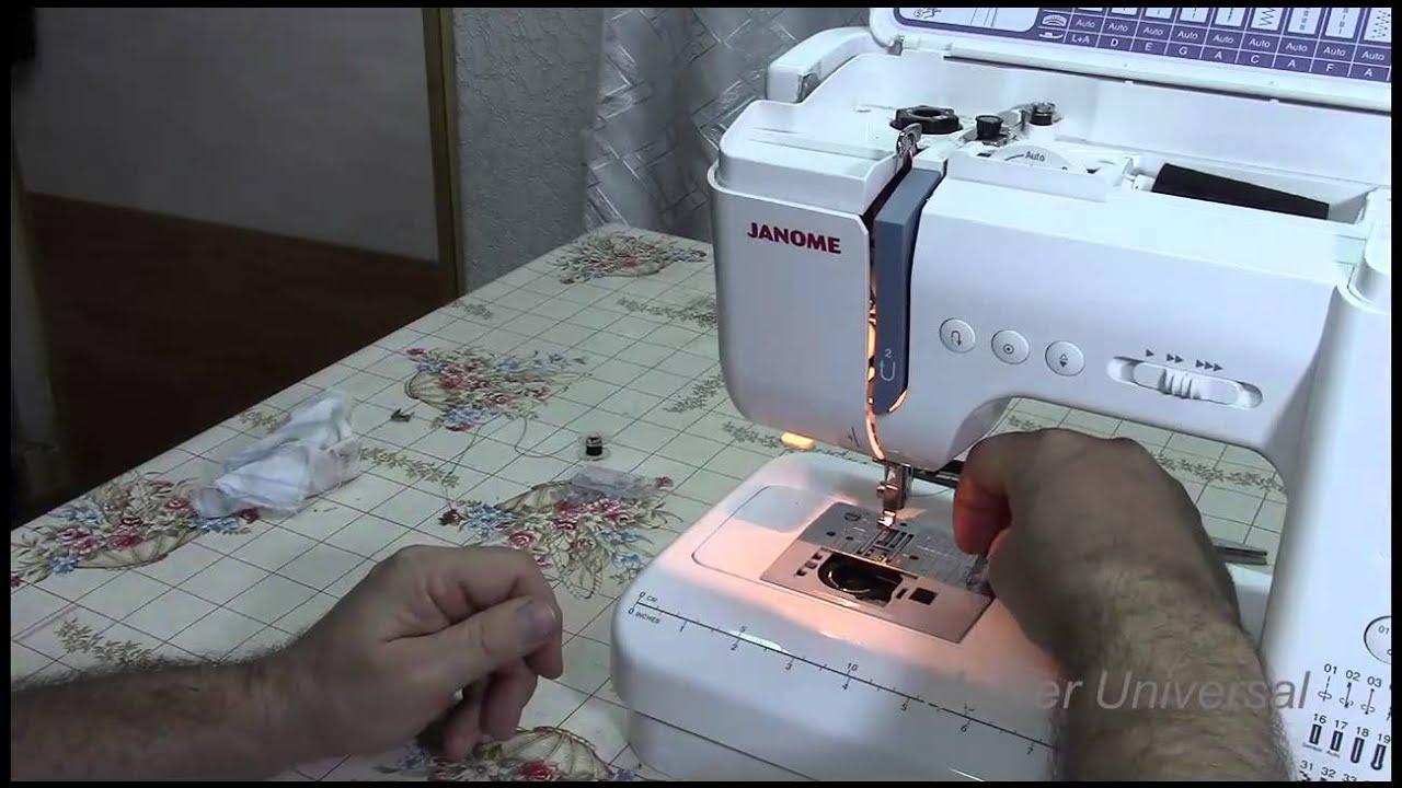 Регулировка швейной машинки джаноме своими руками 87