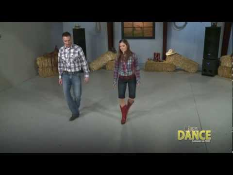 How To Line Dance - Slappin' Leather Line Dance Video video