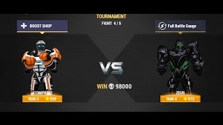 Real Steel Champions | TOURNAMENT | ATOMPRIME VS Zeus NEW ROBOTS GAME (Живая Сталь)