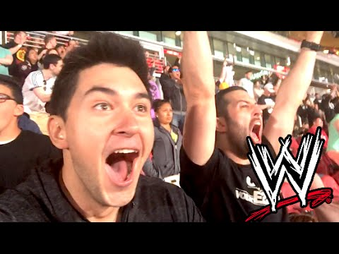 Live Wrestlemania 31 Reactions!! video