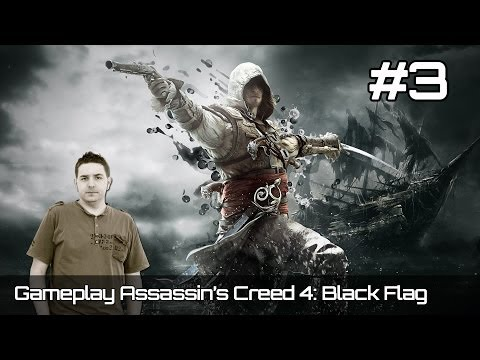 Gameplay Assassin's Creed 4 IV Black Flag | Español | Parte 3 | En directo