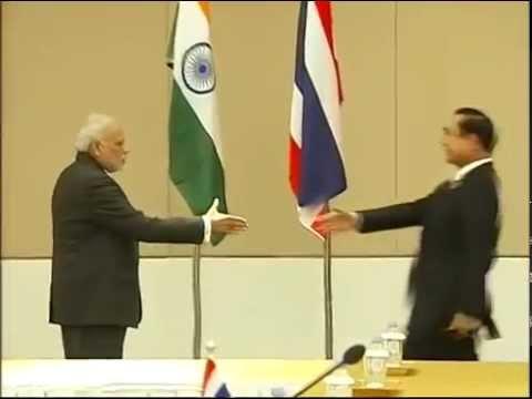 PM Modi meets Thailand PM Gen.Prayut Chan-o-cha