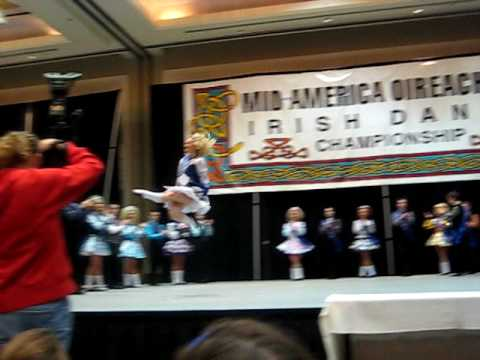 Jillian Oury Dancing at the 2007 Mid American Oireachtas sry for the camera ppl in the way!