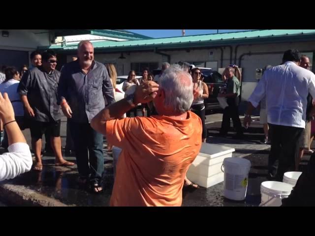 HFWF chefs accept ALS ice bucket challenge