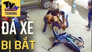 Ăn cắp xe máy bị chủ nhà bắt quả tang tại chỗ