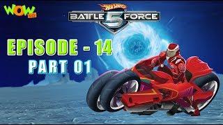 Motu Patlu presents Hot Wheels Battle Force 5 - Storm Shocker - Episode 14-P1 - in Hindi