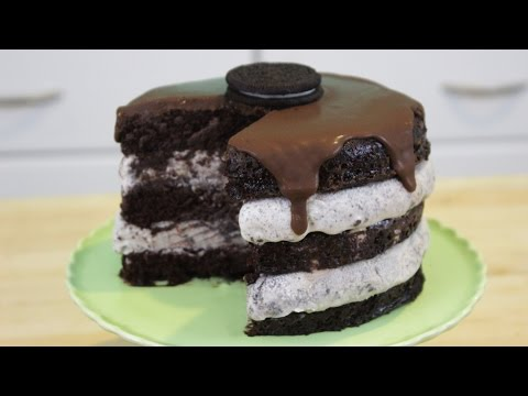 How to Make Oreo Ice Cream Cake! - Oreo jégkrémtorta recept