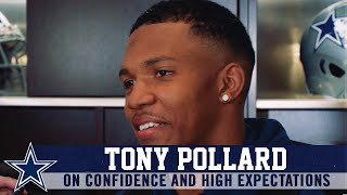 "Tony Pollard: ""I Have High Expectations"" 