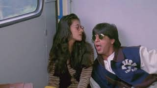 SRK helps Kajol catch the train for the first time