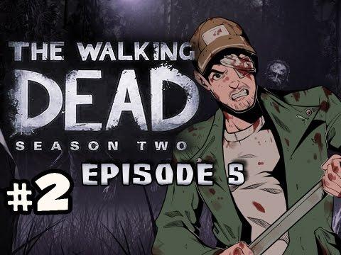 Campfire Stories - The Walking Dead Season 2 Episode 5 No Going Back Walkthrough Ep.2 video