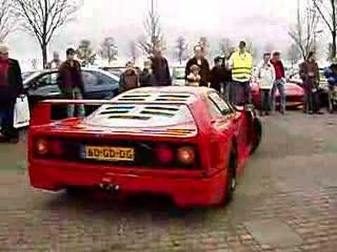 Ferrari F40 Gte. Ferrari F40 @ Houten