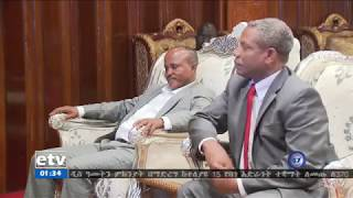 Tigray People Democratic movement Leaders arrived in Addis