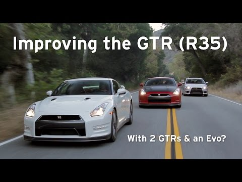 Godzilla goes to Finishing School: '14 GTR, '10 GTR, and Evo X - Everyday Driver