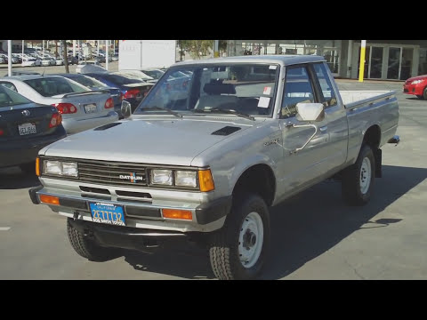 1982 Datsun Pickup, 38k Original Miles, 4x4, 4cyl, Bob Smith Toyota