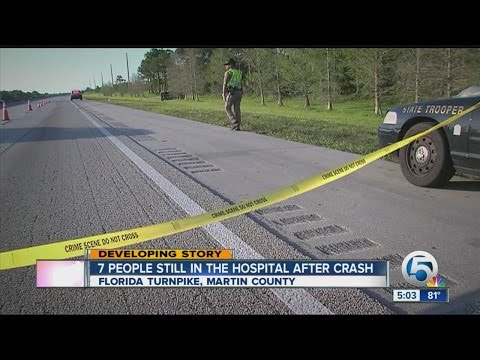 7 people still in the hospital after crash