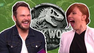 Jurassic World 2 Fallen Kingdom Cast Funny Moments