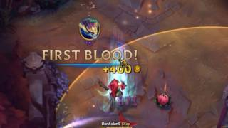 how to allways get first blod in league of legends