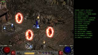 "Diablo 2 - Infinity Glitch & Last ""Organ Set"" run"