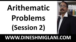 Tricks and Shortcuts to Arithematic Problems Fast Maths ( Session 2) for SSC, IBPS