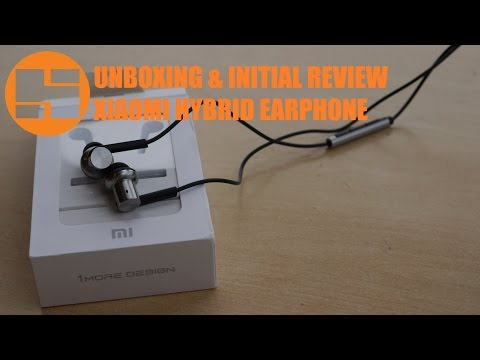 Unboxing & Initial Review Xiaomi Hybrid Earphone Indonesia