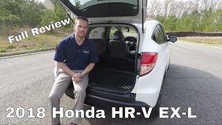 2018 Honda HR-V EX-L Full Review | Inside & Out