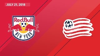 HIGHLIGHTS: New York Red Bulls vs. New England Revolution | July 21, 2018