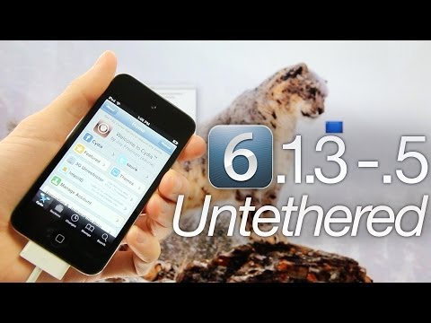 NEW Jailbreak 6.1.3, 6.1.4, 6.1.5 Untethered iOS iPhone 5,4S,4,3Gs,iPod Touch 5,4 & iPad Mini,4,3,2