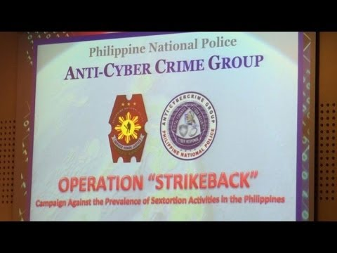 Dozens held in Philippines over global 'sextortion' ring