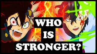 Asta vs. Yuno – WHO WOULD WIN?! (Black Clover Power Scaling Asta vs Yuno – Who Is Stronger?)