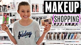 MAKEUP SHOPPING VLOG WITH MY MOM | WHAT TO BUY FOR YOUR FIRST TEEN MAKEUP KIT!