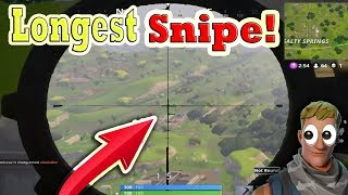 Fortnite Funny and WTF Moments (Longest Sniper Shot!) (Battle Royale)