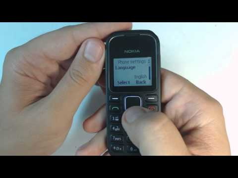 Nokia 1280 factory reset