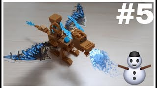 Lego My World Minecraft Dragon - Xếp hình lego My World Minecraft rồng nước | terebiTV
