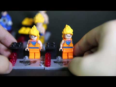 Lego Dragon Ball Z Zhiao Bootleg Review