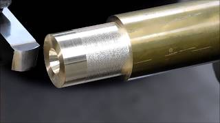 Ornamental Lathe Work --- A Brass Cannon Barrel