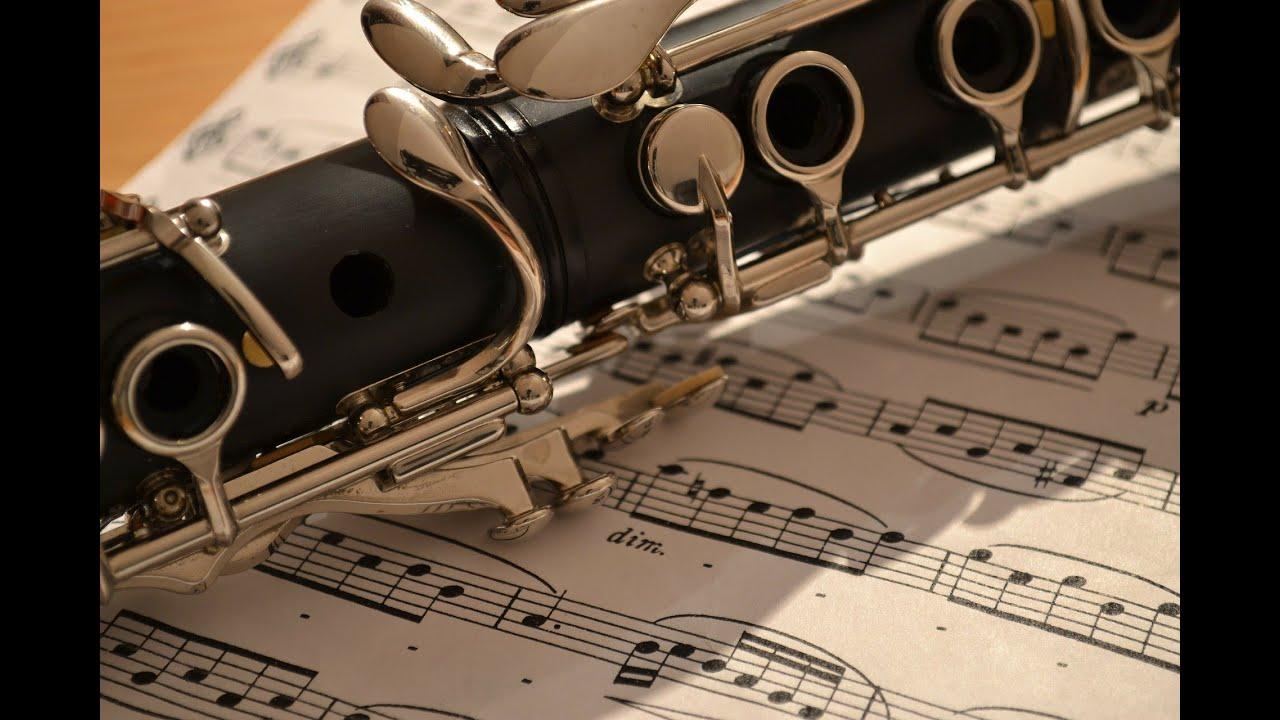 Adaptable image within free printable clarinet sheet music