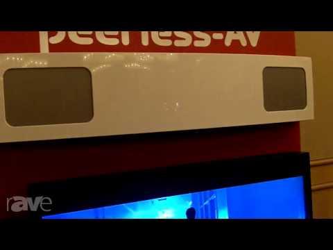 E4 AV Tour: Peerless-AV Demos Environmentally Sealed Ciil TV, Sunlight-Readable Panel, HD Flow