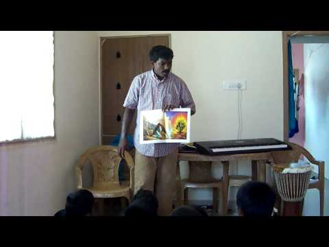 Jerish Antony  In Sunday School Story In Tamil video