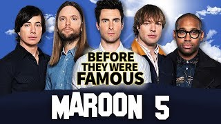 MAROON 5 | Before They Were Famous | Adam Levine Biography