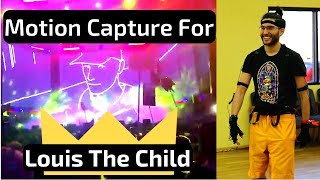 "Live Performance vs. Motion Capture for Louis The Child's ""Dear Sense"""